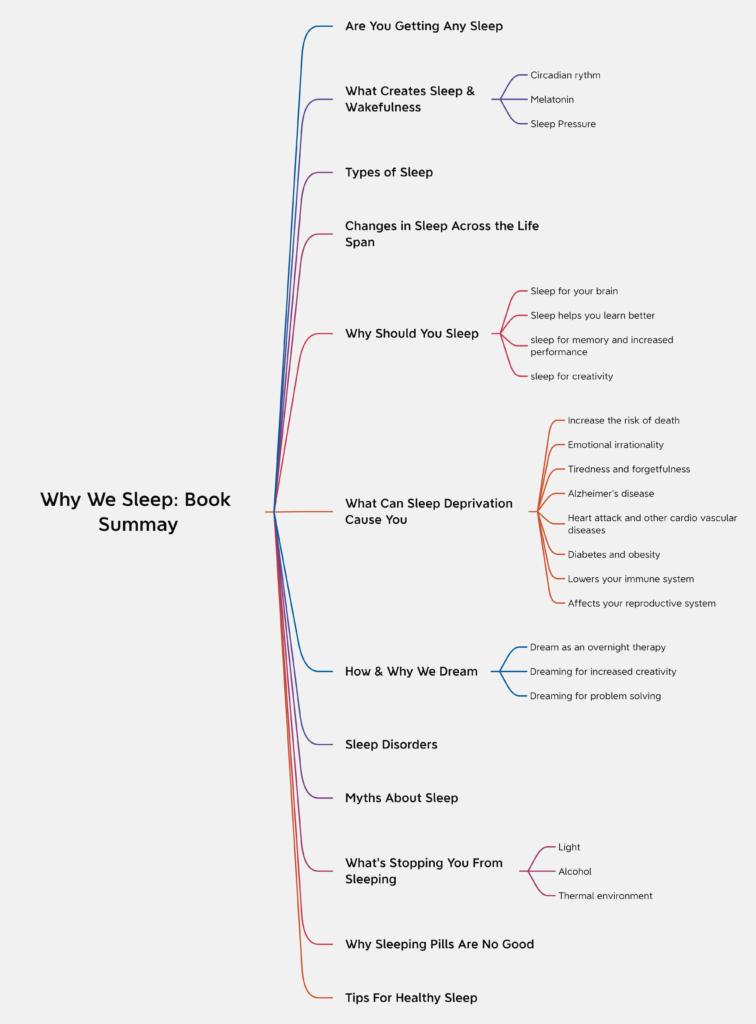 Why We Sleep Book Summary 1